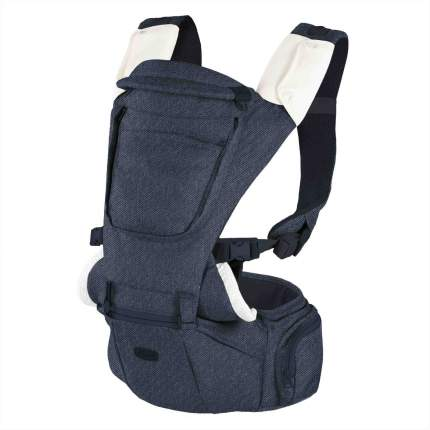Переноска-трансформер Chicco Hip Seat Carrier расцветка Denim