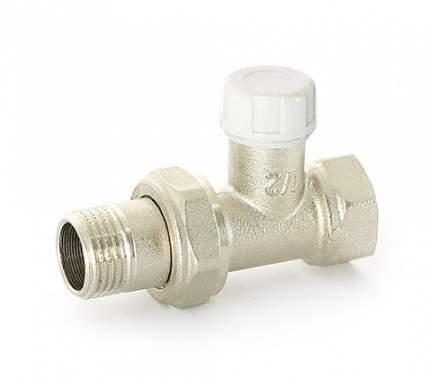 Вентиль обратный НВ 1/2 никелированный с разъёмным соединением Uni-Fitt 170N2000