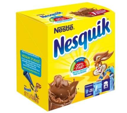 Какао-напиток NESQUIK OPTI-START быстрорастворимый 28 пакетиков