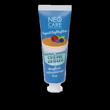 "Хайлайтер ""Glitter mousse crème brulee"", жидкий Neo Care 30 мл"