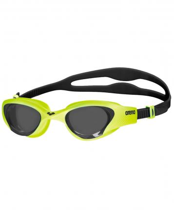 Очки для плавания Arena The One, -, салатовый, тренировочный, силикон