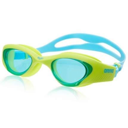 Очки для плавания Arena The One (детские), -, салатовый, тренировочный, силикон