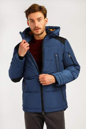 Зимняя куртка мужская Finn Flare A19-22013 темно-синяя XXL