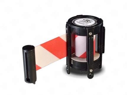 Кассета с вытяжной лентой 3 метра KVL-03 white/red