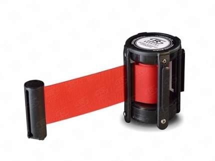 Кассета с вытяжной лентой 5 метров KVL-05 red