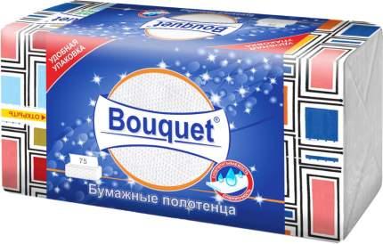 Бумажные полотенца в ассортименте 23*21,5 Bouquet , 2 сл. в коробке 75 шт.,