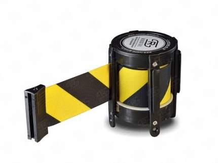 Кассета с вытяжной лентой 2 метра KVL-02 yellow/black