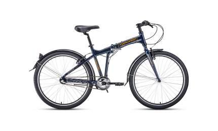 """Велосипед Forward Tracer 26 3.0 Disc 2020 18.5"""" navy/orange"""