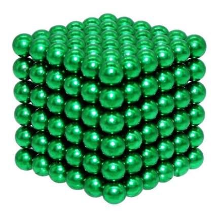 Конструктор из неодимовых магнитов Magnetic Cube Куб черный, 216 шариков, 5 мм
