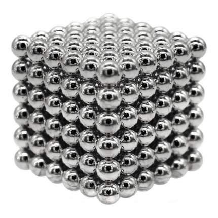 Конструктор из неодимовых магнитов Magnetic Cube Куб стальной, 216 шариков, 5 мм