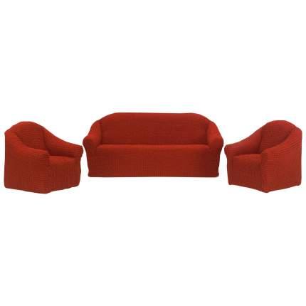 Чехол на диван KARNA красный