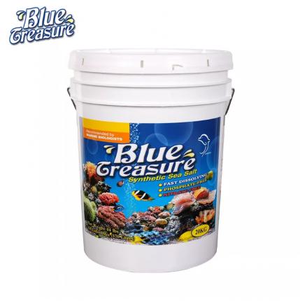 Морская соль BLUE TREASURE Reef Sea Salt 20 кг