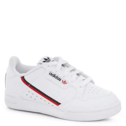 Кеды для девочек Adidas, цв. белый, р.33,5
