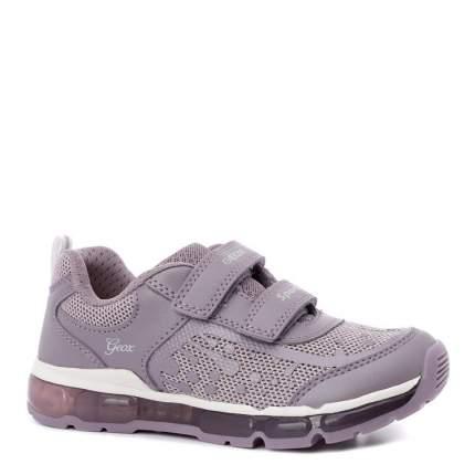 Кроссовки для девочек Geox, цв. фиолетовый, р.26