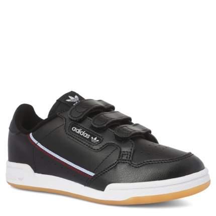 Кеды для девочек Adidas, цв. черный, р.34