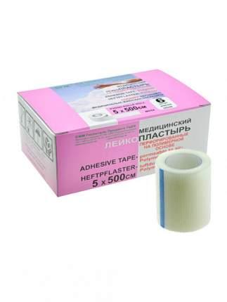 Лейкопластырь Полимерная основа SFM Plaster 534 555 5,0х500см белый