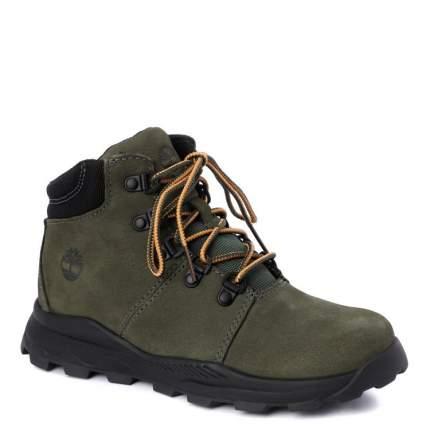 Ботинки детские Timberland, цв. зеленый р.34