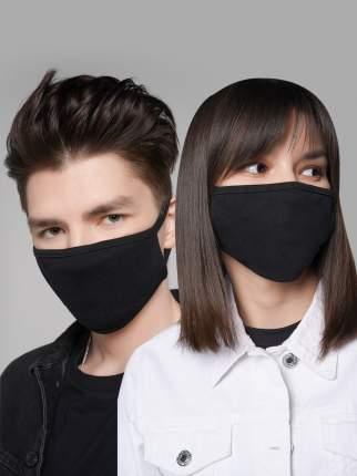 Многоразовая маска для лица ТВОЕ 72942 черная 1 шт.