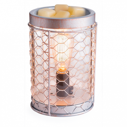 Аромасветильник настольный Candle Warmers Chicken Wire Edison Bulb Illumination