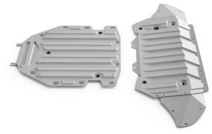 Защита картера и КПП Rival Audi Q7 II /Q7 II   -, штампованная, 2 части, K333.0350.1