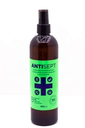 Антисептик спрей гигиенический для рук с антибактериальным эффектом ANTISEPT 400 мл