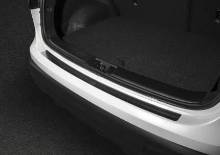 Накладка на задний бампер Rival для Nissan Qashqai II 2014-2019, нерж. сталь, NB.4106.1