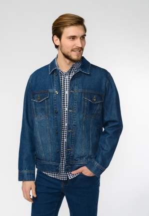 Джинсовая куртка мужская Modis M201D00250 синяя 46 RU