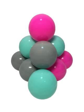 Шарики для бассейна Hotenok Мятно-розовые тени, 7 см, 50 штук