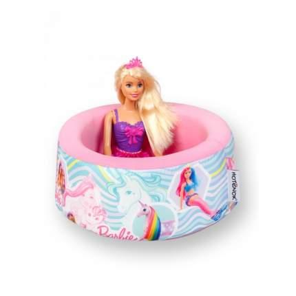 Сухой бассейн Hotenok Barbie Сказочная история, 100х40 см + 200 шариков