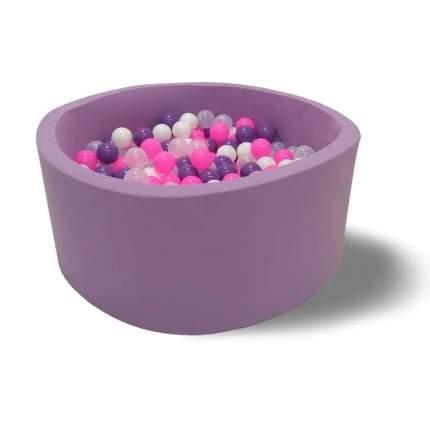 Сухой бассейн Hotenok Ночные пузыри, 100х40 см + 200 шариков