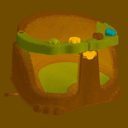Сиденье для купания детское Бытпласт зеленый