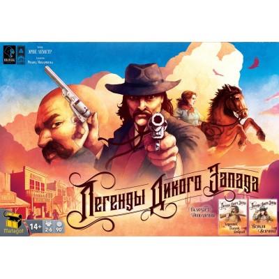 Настольная игра Lavka Games Легенды дикого запада
