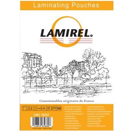 Плёнка для ламинирования Lamirel 85x120мм, 125мкм, 100 шт.