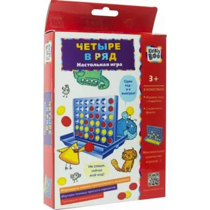 Настольная игра-головоломка Kribly Boo Четыре в ряд