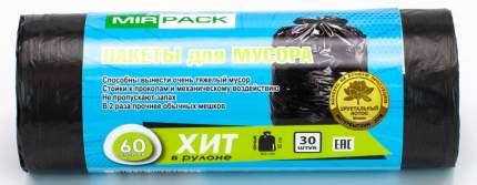 Мешки для мусора MirPack Хит 30 шт 60 л
