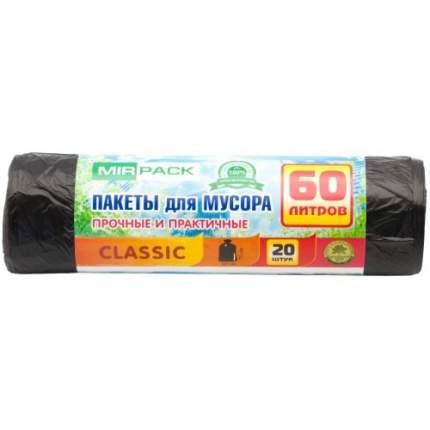 Мешки для мусора MirPack Classic 20 шт 60 л