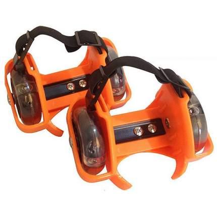 Роликовые коньки на пятку TZHF Small whirlwind pulley оранжевые
