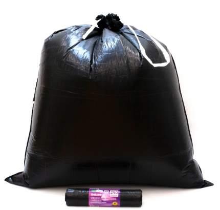 Мешки для мусора MirPack Deluxe с завязками 10 шт 240 л