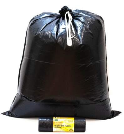 Мешки для мусора MirPack Deluxe с завязками 10 шт 180 л