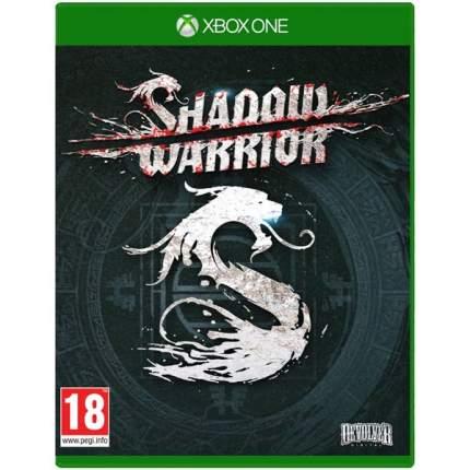 Игра Shadow Warrior для Xbox One