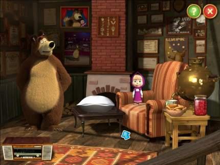 Игра Маша и Медведь. Активные игры для PC