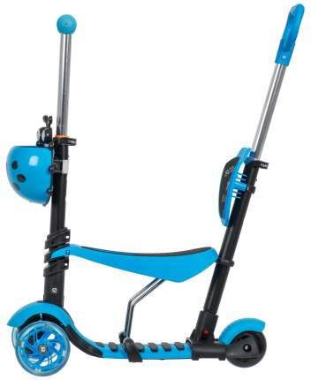 Самокат 3-х колесный Foxx голубой