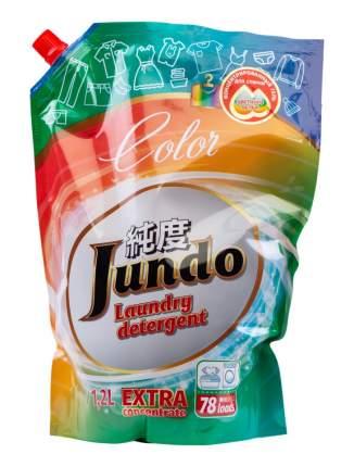 Концентрированный гель для стирки цветного белья Jundo Color запасной блок 1200 мл