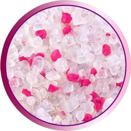 Наполнитель для кошачьего туалета Лапуся, силикагелевый, розовый, 4л