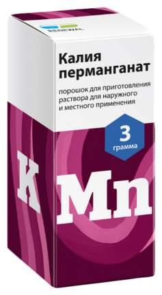 Калия перманганат пор. для пригот. раствора для местного и наруж.прим.3 г №1 Renewal