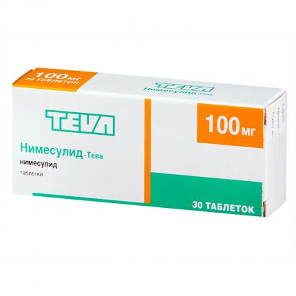 Нимесулид-Тева таблетки 100 мг №30