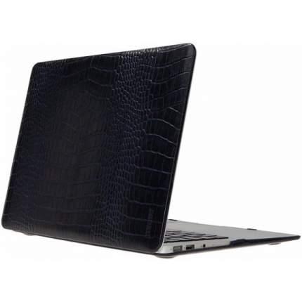 "Чехол для ноутбука 13"" 2009-2011 Heddy Leather Hardshell Croco Dark Blue"