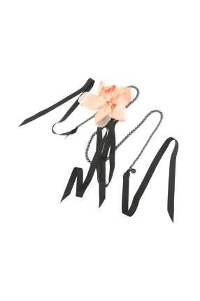 Чокер женский Ellen Conde черный/розовый