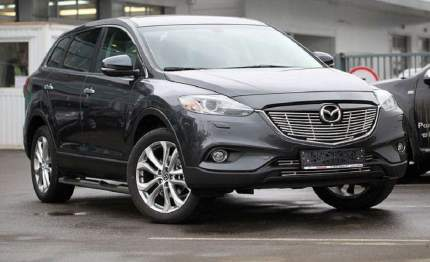 Декоративные элементы воздухозаборника (черн загл.) d10,Mazda CX-9 2013-