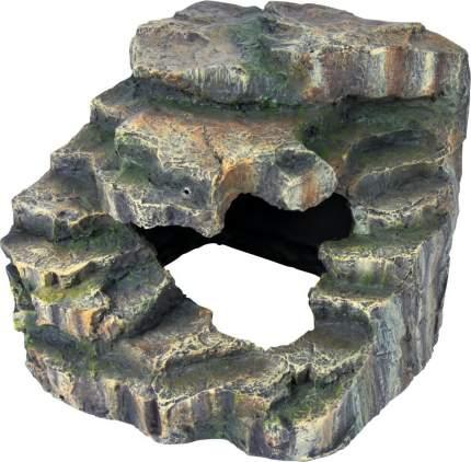 Декорация для террариума TRIXIE Угловая пещера, полиэфирная смола, 7х17х16 см